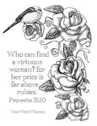 Coloring Sheets W Bible Verses Every FREE Printable Christian