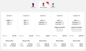 Singtel price plans for iPhone 8 iPhone 8 Plus and iPhone X are