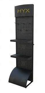 Retail Metal Floor Rack Shoes Display Fixture