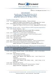 Speech By Mr Edouard Dayan General At The Annex 1 Agenda En Pdf Mail E Commerce