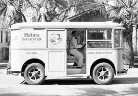 Helms Bakery Trucks Once Delivered Freshly Baked Goods To ... 1936 Divco Helms Bread Truck S216 Anaheim 2015 1934 Twin Coach Bakery Truck For Sale Classiccarscom Cc Man 1967 Shorpy Vintage Photography Photo Taken At The San Juan Capistrano Flickr For Orignal 1933 Cruzn Roses Car Show Rais 3 Photographed Usa Wo Wikipedia Bakeries Paper Car Cboard Dolls And 1961 Chevy Panel The Hamb Designs Bakery Van Stored