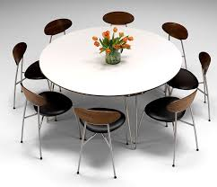 Beautiful Delightful Large Round Modern Dining Tables Table Ideas Pinterest