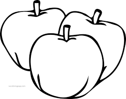 Coloring Pages Apple Pictures Of An For Kids Calories In Apples To Color Plants