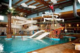 Enjoy Five Pools Slides A 40 Foot Pirate Ship And Tiki Bar For Mom Dad When Its Time To Fuel Up Castaways Grill