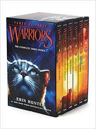 Warriors Power Of Three Box Set Volumes 1 To 6 Erin Hunter 9780062367167 Amazon Books