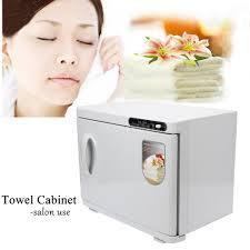 Uv Sterilizer Cabinet Uk by 23l Towel Warmer Sterilizer Cabinet Uv Heater Nail Spa Beauty