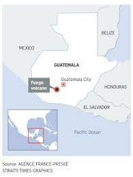 100 Where Is Guatemala City Located At Least 7 Dead 296 Injured In Volcano Eruption