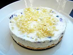blaubeer frischkäse kuchen mit weißer schokolade sugar spice