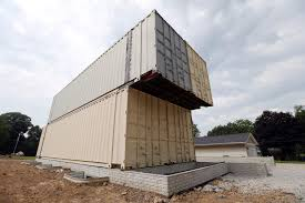 100 Metal Shipping Container Homes Industrial Housing Container Home Taking Shape In