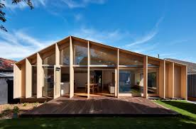 100 Glass Extention 60s Aussie House Changes Face With Timberandglass