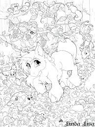 Surprising Unicorn And Rainbow Coloring Pages Hard Also Best Colouring Ideas