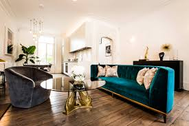 Brown Sofa Living Room Ideas by Decor Nice Fablous Velvet Settee And White Flooring Plus Brown Sofa