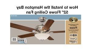 Harbor Breeze Ceiling Fan Install by Hampton Bay Ceiling Fans How To Repair A Harbor Breeze Fan