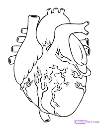 Great Human Heart Coloring Pages 39 In With
