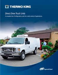 Direct Drive (small Truck And Van) - Thermo King - PDF Catalogue ...