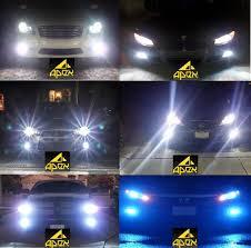 apex h11 h8 h9 blue led headlight