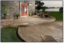 100 Concrete Patio Floor Ideas Patio Design With by Pvblik Com Patio Decor Steps