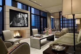 mounting a tv over a fireplace ideas contemporary living room