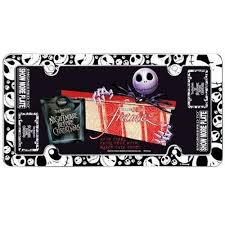 Nightmare Before Christmas Bathroom Decor by License Plate Frame Car Truck Suv Plastic Nightmare Before