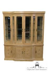 Baker Breakfront China Cabinet by High End Used Furniture Drexel Heritage Corinthian 69 U2033 Lighted