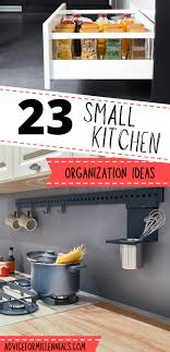 Small Kitchen Organizing Ideas 22 Clever Small Kitchen Organization Ideas Advice For