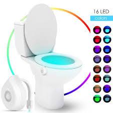 16 farben led motion sensor wc licht batterie betrieben kinder nacht le badezimmer dekoration wc nachtlicht wc sitz le