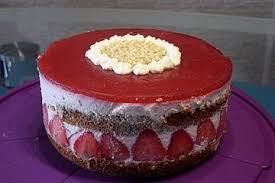 urmelis kleine feine erdbeer quark torte