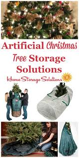 Large Upright Christmas Tree Storage Bag by Artificial Christmas Tree Storage Solutions For Your Home