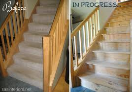 Staircase Makeover: Filling Holes And Staining Treads - Jenna Burger Java Gel Stain Banister Diy Projects Pinterest Gel Remodelaholic Stair Makeover Using How To A Angies List My Humongous Stairs Fail Kiss My Make Wood Stairs Treads For Cheap Simply Swider Stair Railing Cobalts House Staircase Reveal Cut The Craft Updating A Painted With An Ugly Oak Dark All Things Thrifty 30 Staing Filling Holes And