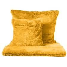 jet de canap jaune plaids et jetés de canapé jaune 3suisses