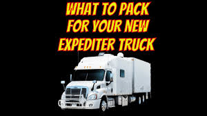 100 Expediter Trucks Download WHAT TO PACK FOR A CUSTOM SLEEPER EXPEDITER TRUCK