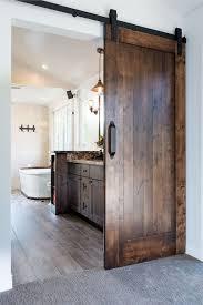 33 fantastic barn door design ideas 33decor bathroom