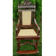 Antique Anglo Indian Rosewood Rocking Chair, Antiques ...