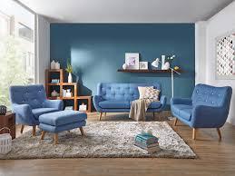 wohnzimmer skandinavisch blau caseconrad