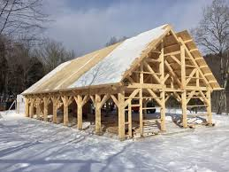 Building The Wedding Pavilion At Mad River Barn In Vermont: The ... Historic Post And Beam Homes Green Mountain Timber Frames Vermont Winter Photos Embracing The Cold White River Division Barns Part Two Old Gray Barn Venue Rupert Vt Weddingwire Three Sled Shed Snowmobile Storage Shed And Rustic Red Barn In Vermont Countryside Stock Photo Royalty Homes Middletown Springsvermont Charm Again These Days Of Mine 1880s Vintage For Sale Images Alamy Census 2009 Preliminary Research