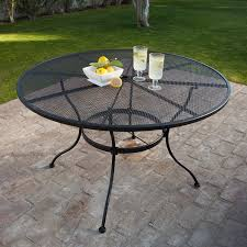 100 Small Wrought Iron Table And Chairs Amazoncom Belham Living Stanton 48 In Round Patio