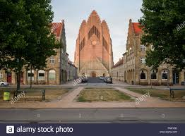 100 Jensen Architecture Copenhagen Denmark Grundtvigs Church And Surrounding Houses