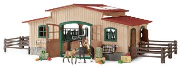 Amazon.com: Schleich Horse Stable With Accessories: Toys & Games ... Saddle Up With The Sleich Horse Club Riding Centre The Toy Insider Grand Stable Barn Corral Amazoncom Melissa Doug Fold And Go Wooden Ikea Hack Knagglig Crate For Horses Best Farm Toys Photos 2017 Blue Maize Breyer Stablemates Red Set Kids Ebay Life In Skunk Hollow Calebs Model How To Make Stall Dividers A Box Toy Horse Barns Sale Ideas Classics Country Wash Walmartcom Kid Friendly Youtube Traditional Deluxe Wood Cupola