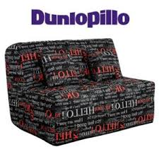 dunlopillo canapé inside 75 canapé convertible bz imprimé système slyde matelas
