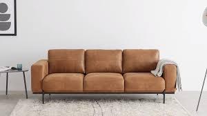 jarrod 3 sitzer sofa leder in cognac made in 2020 3