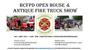 100 Antique Fire Truck BCFPD 3rd Annual Show Open House Village Of