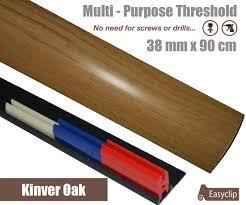 Carpet To Tile Transition Strips Uk by Kinver Oak Laminate Transition Strip 38mm X 0 90mtr Multi Height