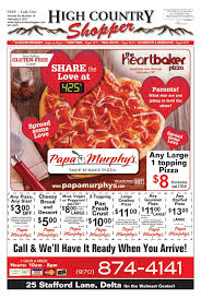 Calaméo - High Country Shopper 2.8.17 Order Online For Best Pizza Near You L Papa Murphys Take N Sassy Printable Coupon Suzannes Blog Marlboro Mobile Coupons Slickdealsnet Survey Win Redemption Code At Wwwpasurveycom 10 Tuesday Any Large For Grhub Promo Codes How To Use Them And Where Find Parent Involve April 26 2019 Ca State Fair California State Fair 20191023 Chattanooga Mocs On Twitter Mocs Win With The Exciting Murphys Pizza Prices Is Hobby Lobby Open Thanksgiving