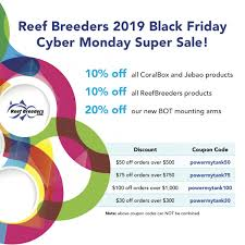 CYBER MONDAY Sale Ends TONIGHT! | REEF2REEF Saltwater And ...