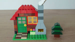 100 Small Lego House LEGO CLASSIC 10695 How To Build A Wood Cabin