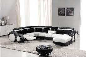 canapé d angle panoramique en cuir avec reposepied intégré relax 1