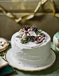 Decoration Idea Alpine Cake