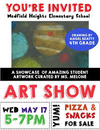 TONIGHT The MHES Student ART SHOW