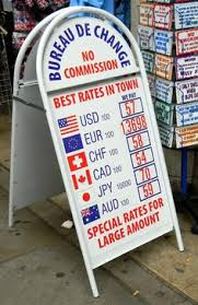 bureau de change 17 exchange rate forex economia