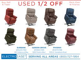 anaheim new and used electric lift chair recliner seat pride